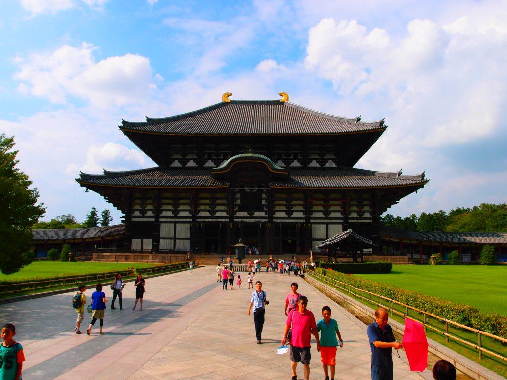 奈良 東大寺 本殿