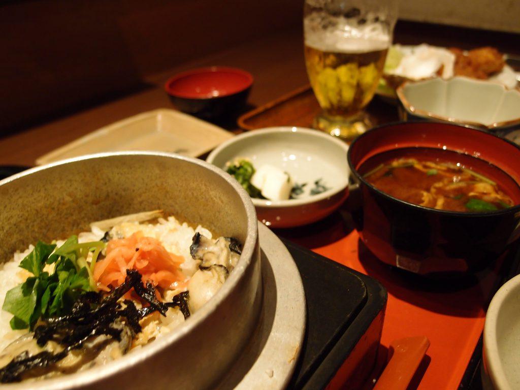 広島 カキの釜飯